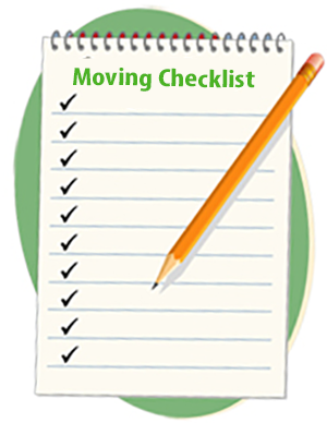 Checklist for moivng office