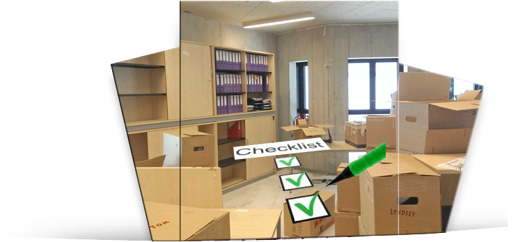Office move checklist - The first step
