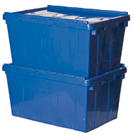 Large Plastic packing Crates for Rent