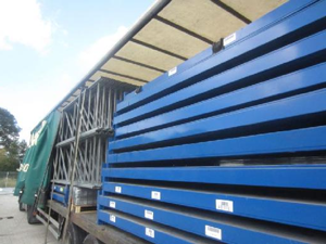 Warehouse racking movers